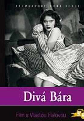 Divá Bára - papírová pošetka DVD