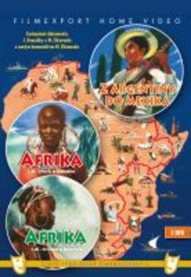 Afrika 1. a 2. díl + Z Argentiny do Mexika (3x DVD) - digipack