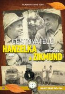 Cestovatelé Hanzelka a Zikmund - sběratelská kolekce 9 DVD