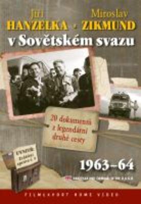 Jiří Hanzelka a Miroslav Zikmund v Sovětském svazu (2x DVD) - digipack