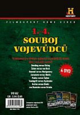 Souboj vojevůdců - 1-4 - 4x DVD - papírové pošetky