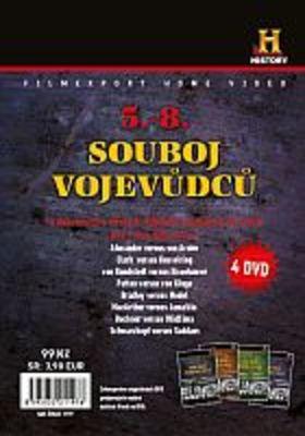 Souboj vojevůdců - 5-8 - 4x DVD - papírové pošetky